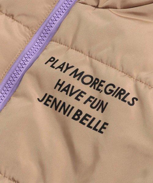 JENNI belle(ジェニィベル)/バイカラー中綿ブルゾン/02396106_img08