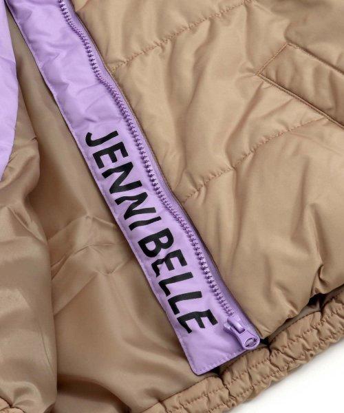 JENNI belle(ジェニィベル)/バイカラー中綿ブルゾン/02396106_img12