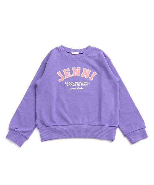 JENNI belle(ジェニィベル)/BIGレタードプリントトレーナー/02396202_img06