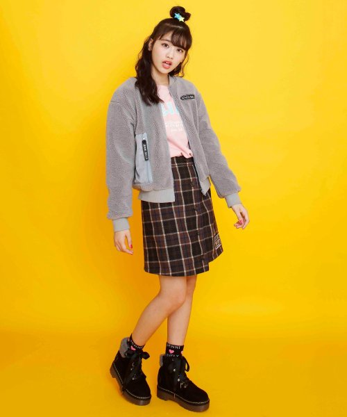 JENNI belle(ジェニィベル)/チェック前ボタンスカート/02396306_img02