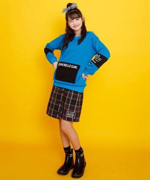 JENNI belle(ジェニィベル)/チェック前ボタンスカート/02396306_img03