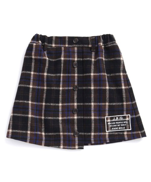 JENNI belle(ジェニィベル)/チェック前ボタンスカート/02396306_img06