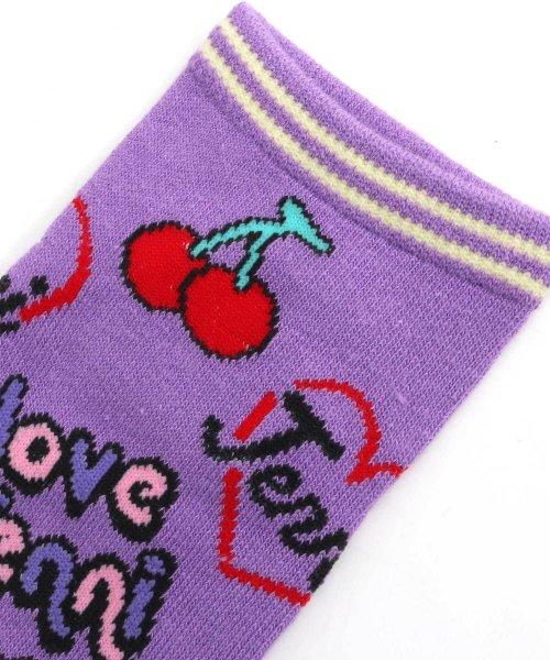 JENNI love(ジェニィラブ)/POP柄ショートソックス/02496401_img02