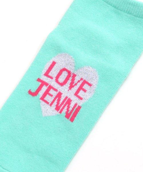 JENNI love(ジェニィラブ)/ハートラメショートソックス/02496404_img01