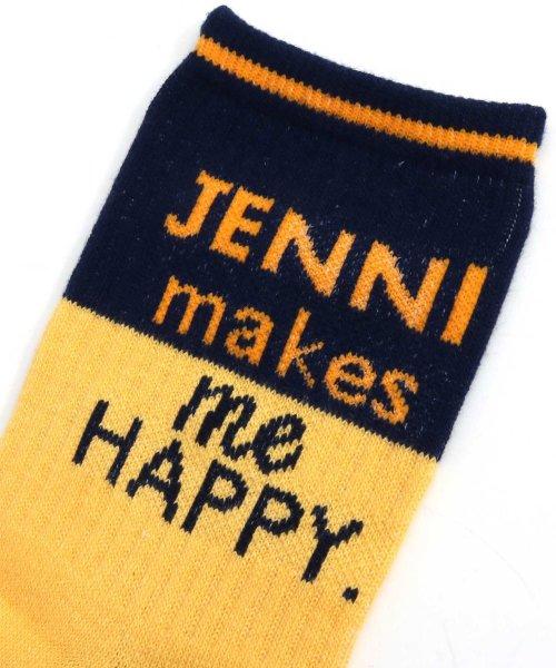 JENNI love(ジェニィラブ)/バイカラーリブクルーソックス/02496407_img09