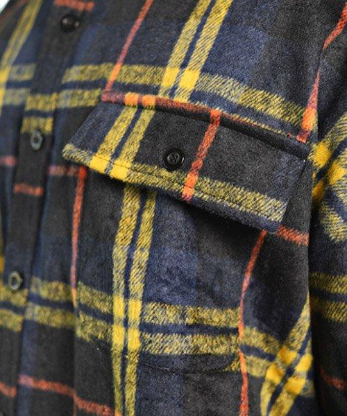 LUXSTYLE(ラグスタイル)/ビッグシルエットネルシャツ/シャツ メンズ 長袖 ネルシャツ ビッグシルエット/pm-8883_img08