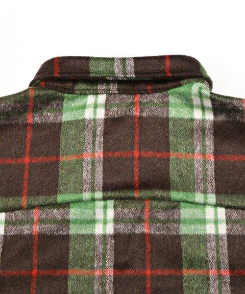 LUXSTYLE(ラグスタイル)/ビッグシルエットネルシャツ/シャツ メンズ 長袖 ネルシャツ ビッグシルエット/pm-8883_img13