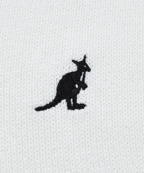 revenil(ルヴニール)/KANGOL チルデンニットVネック襟リブラインセーター/625210_img09