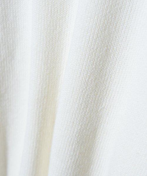 revenil(ルヴニール)/KANGOL チルデンニットVネック襟リブラインセーター/625210_img19