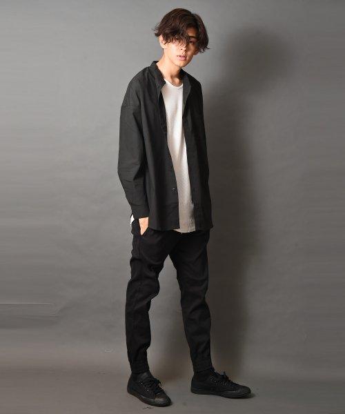 revenil(ルヴニール)/オーバーサイズバンドカラー長袖シャツ/625333_img04