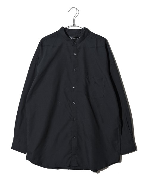 revenil(ルヴニール)/オーバーサイズバンドカラー長袖シャツ/625333_img05