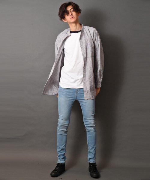 revenil(ルヴニール)/オーバーサイズバンドカラー長袖シャツ/625333_img10