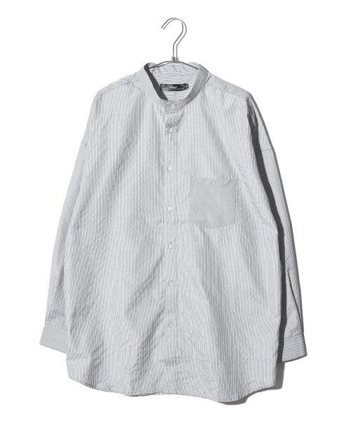 revenil(ルヴニール)/オーバーサイズバンドカラー長袖シャツ/625333_img11