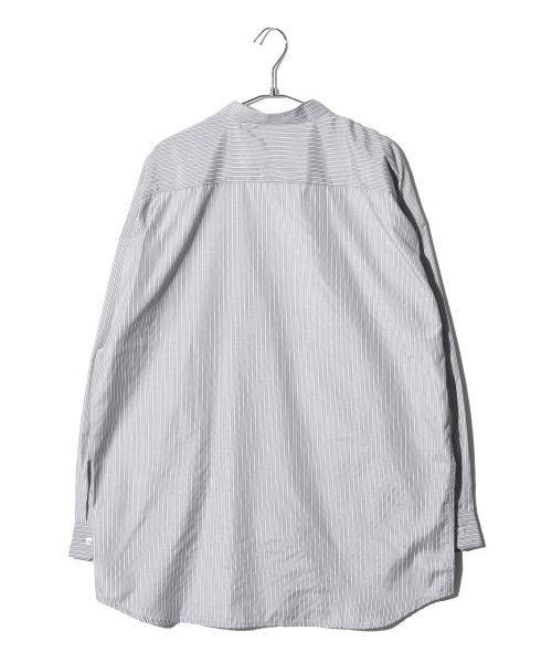 revenil(ルヴニール)/オーバーサイズバンドカラー長袖シャツ/625333_img13
