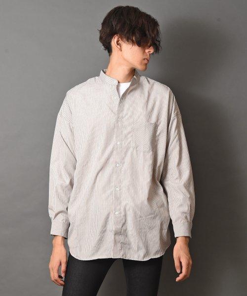 revenil(ルヴニール)/オーバーサイズバンドカラー長袖シャツ/625333_img18