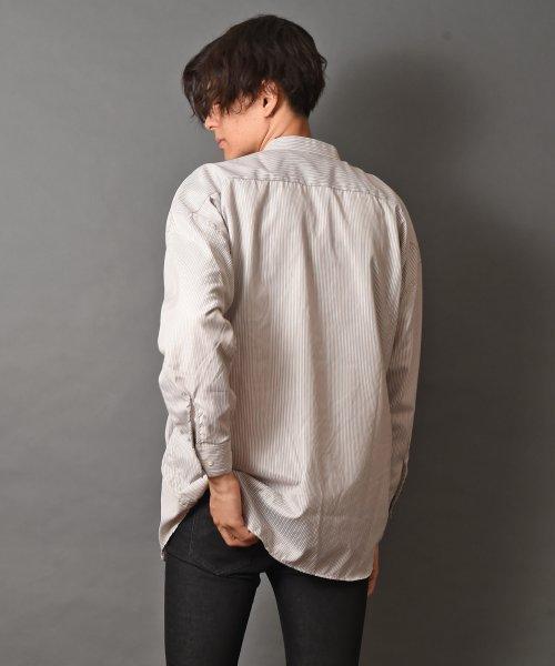 revenil(ルヴニール)/オーバーサイズバンドカラー長袖シャツ/625333_img19