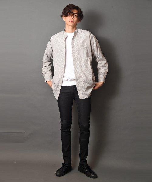 revenil(ルヴニール)/オーバーサイズバンドカラー長袖シャツ/625333_img20