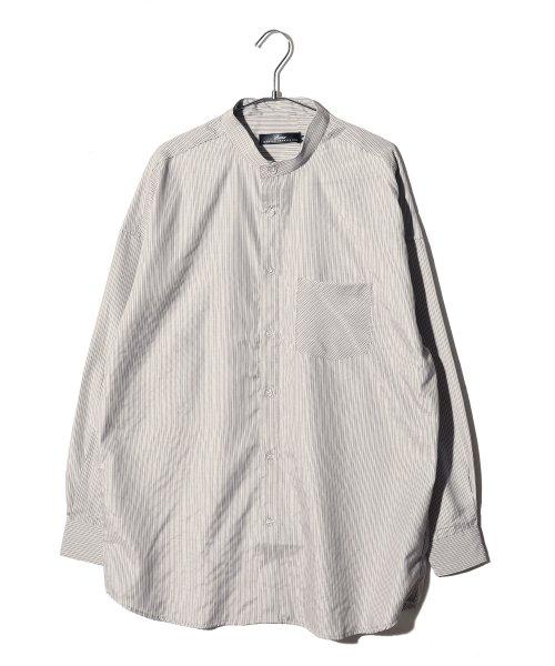revenil(ルヴニール)/オーバーサイズバンドカラー長袖シャツ/625333_img21