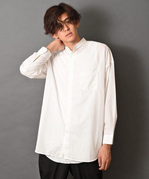 revenil(ルヴニール)/オーバーサイズバンドカラー長袖シャツ/625333_img29