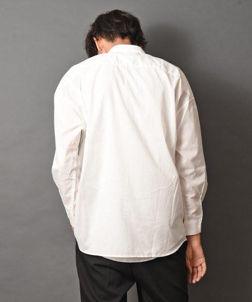 revenil(ルヴニール)/オーバーサイズバンドカラー長袖シャツ/625333_img30