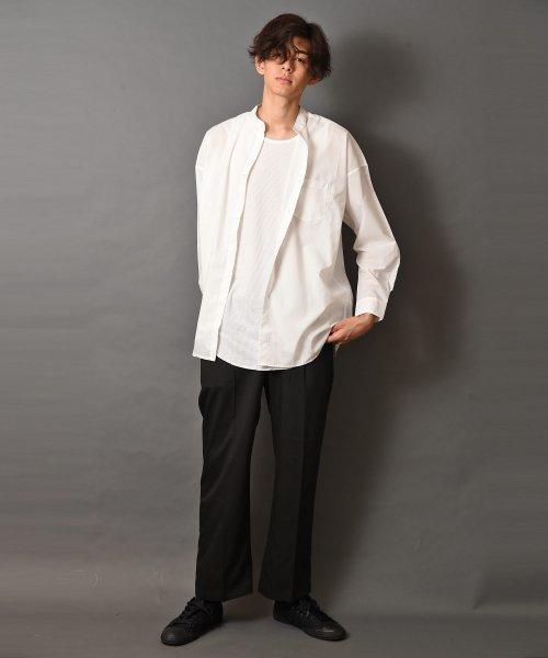 revenil(ルヴニール)/オーバーサイズバンドカラー長袖シャツ/625333_img31