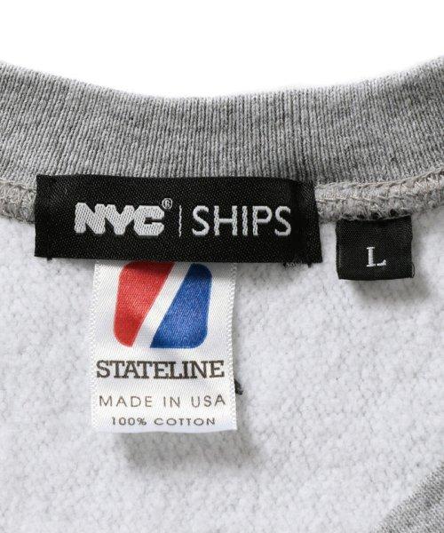 SHIPS MEN(シップス メン)/NYC: 別注 クルーネック スウェット/112050150_img05