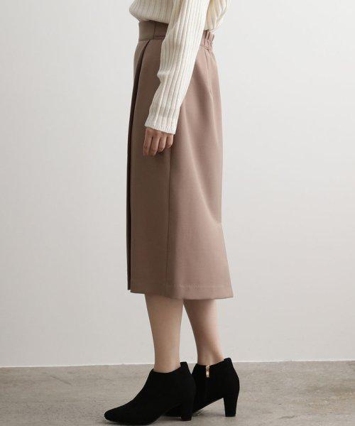 ViS(ビス)/【EASY CARE】ウォッシャブルフラノラップタイトスカート/BVC39280_img01