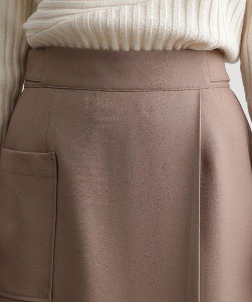 ViS(ビス)/【EASY CARE】ウォッシャブルフラノラップタイトスカート/BVC39280_img04
