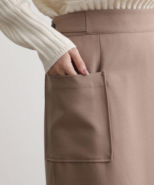 ViS(ビス)/【EASY CARE】ウォッシャブルフラノラップタイトスカート/BVC39280_img06