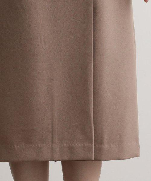 ViS(ビス)/【EASY CARE】ウォッシャブルフラノラップタイトスカート/BVC39280_img07