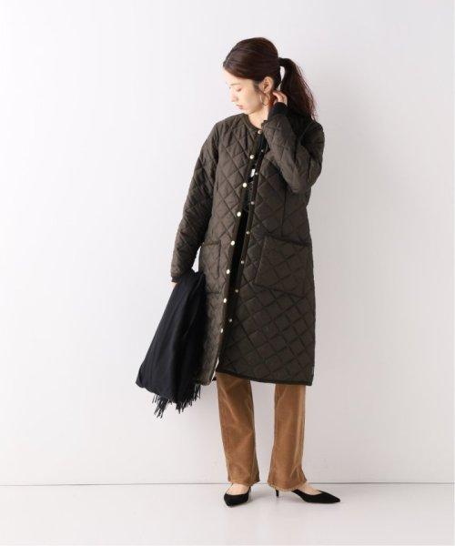 Spick & Span(スピック&スパン)/【Traditional Weatherwear】別注キルティングノーカラーロングコート/19020210000930_img02