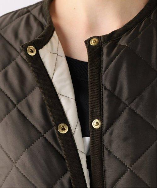 Spick & Span(スピック&スパン)/【Traditional Weatherwear】別注キルティングノーカラーロングコート/19020210000930_img11