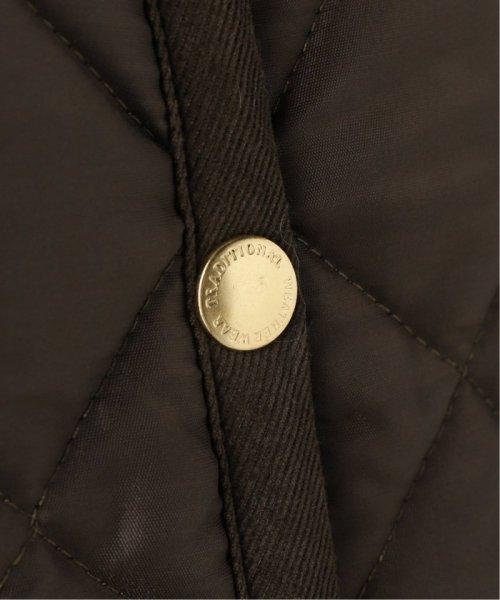Spick & Span(スピック&スパン)/【Traditional Weatherwear】別注キルティングノーカラーロングコート/19020210000930_img12