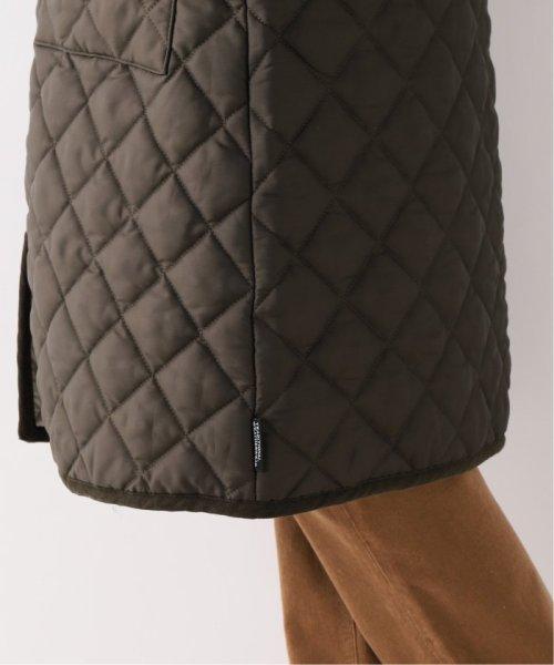 Spick & Span(スピック&スパン)/【Traditional Weatherwear】別注キルティングノーカラーロングコート/19020210000930_img13