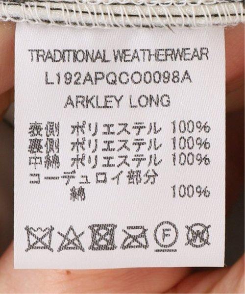 Spick & Span(スピック&スパン)/【Traditional Weatherwear】別注キルティングノーカラーロングコート/19020210000930_img17