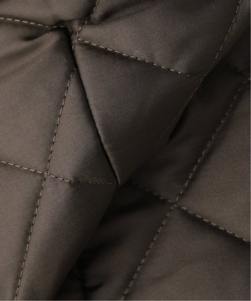 Spick & Span(スピック&スパン)/【Traditional Weatherwear】別注キルティングノーカラーロングコート/19020210000930_img18