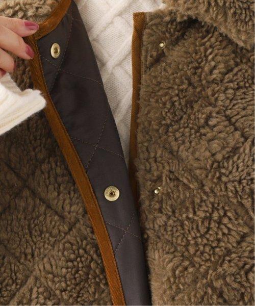Spick & Span(スピック&スパン)/【Traditional Weatherwear】ボアキルティングコート◆/19020210001030_img13