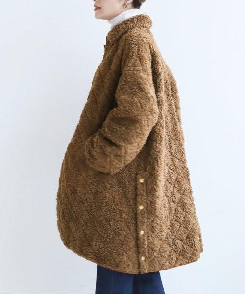 Spick & Span(スピック&スパン)/【Traditional Weatherwear】ボアキルティングコート◆/19020210001030_img27