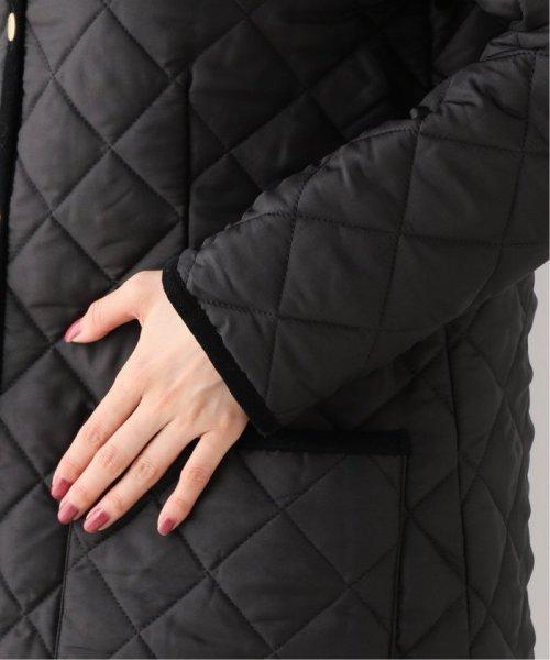 Spick & Span(スピック&スパン)/【Traditional Weatherwear】別注キルティングノーカラーロングコート◆/19020210001130_img09