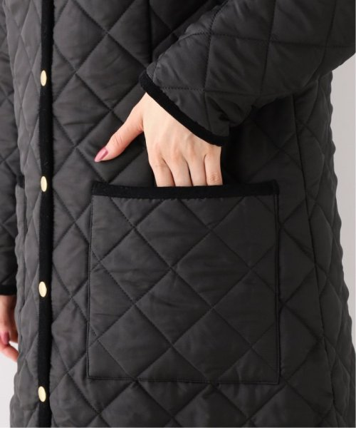 Spick & Span(スピック&スパン)/【Traditional Weatherwear】別注キルティングノーカラーロングコート◆/19020210001130_img10