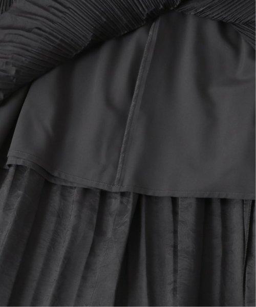 Spick & Span(スピック&スパン)/≪予約≫ワッシャーサテン ティアードプリーツスカート◆/19060200424030_img09