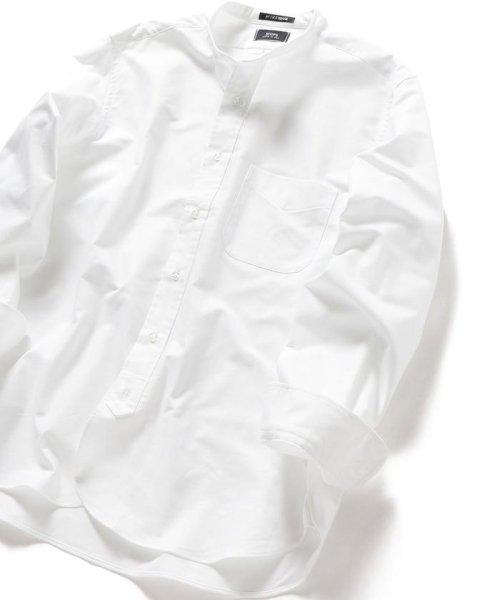 SHIPS MEN(シップス メン)/SHIPS×IKE BEHAR: アメリカ製 オックスフォード バンドカラー シャツ/111135564_img01