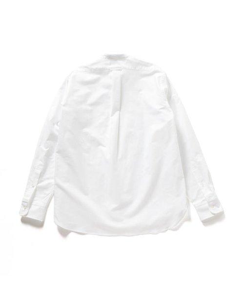 SHIPS MEN(シップス メン)/SHIPS×IKE BEHAR: アメリカ製 オックスフォード バンドカラー シャツ/111135564_img02