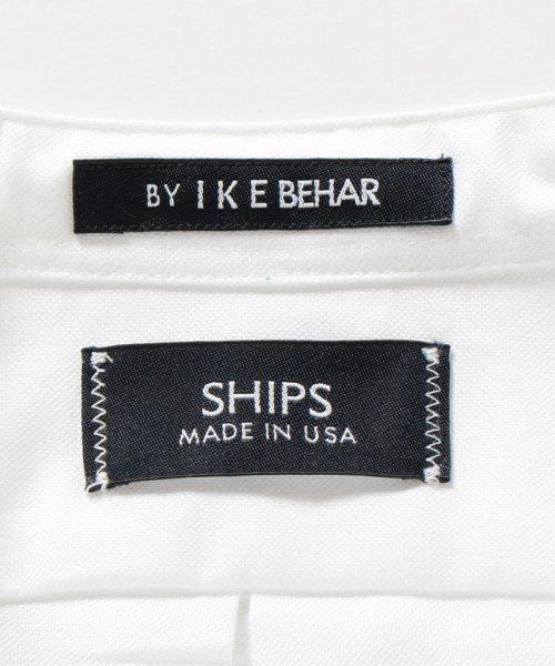SHIPS MEN(シップス メン)/SHIPS×IKE BEHAR: アメリカ製 オックスフォード バンドカラー シャツ/111135564_img07
