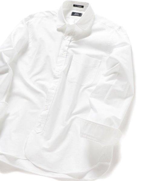 SHIPS MEN(シップス メン)/SHIPS×IKE BEHAR: アメリカ製 オックスフォード ラウンドカラー シャツ/111135566_img01