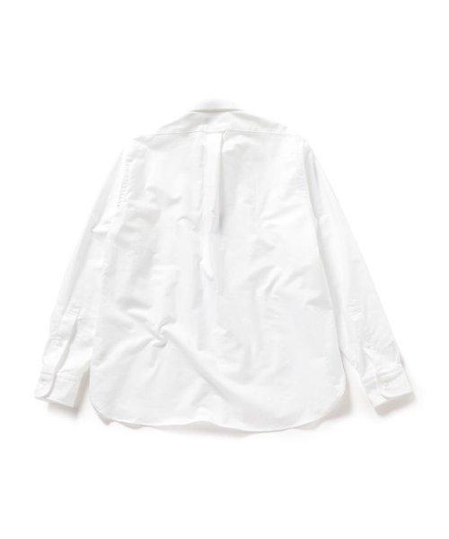 SHIPS MEN(シップス メン)/SHIPS×IKE BEHAR: アメリカ製 オックスフォード ラウンドカラー シャツ/111135566_img02
