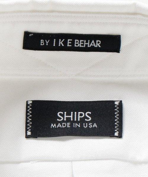 SHIPS MEN(シップス メン)/SHIPS×IKE BEHAR: アメリカ製 オックスフォード ラウンドカラー シャツ/111135566_img07