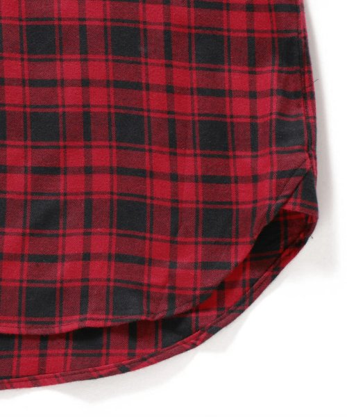 SHIPS MEN(シップス メン)/SHIPS×IKE BEHAR: アメリカ製 バッファローチェック バンドカラー ネルシャツ/111180095_img06