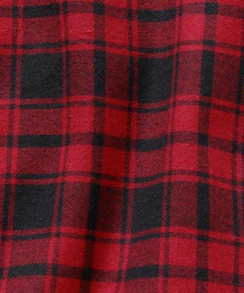 SHIPS MEN(シップス メン)/SHIPS×IKE BEHAR: アメリカ製 バッファローチェック バンドカラー ネルシャツ/111180095_img10
