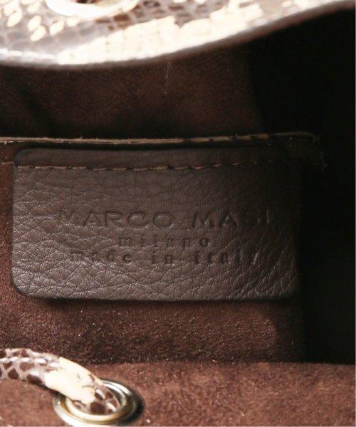 FRAMEWORK(フレームワーク)/≪予約≫【MARCO MASI】キンチャクバッグS(パイソン)4◆/19092230005730_img09